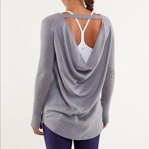 lululemon athletica Sweaters - Lululemon Unity drape back sweater